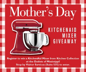 Mother's Day KitchenAid Mixer Giveawat